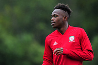 Rabbi Matondo of Wales during the Wales Training Session at The Vale Resort in Cardiff, Wales, UK. Monday 07 October 2019
