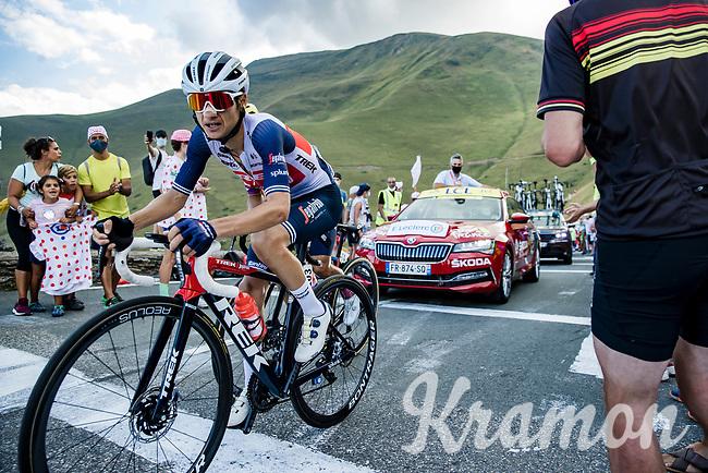 Kenny Elissonde (FRA/Trek-Segafredo) up the Col de Peyresourde<br /> <br /> Stage 8 from Cazères-sur-Garonne to Loudenvielle 141km<br /> 107th Tour de France 2020 (2.UWT)<br /> (the 'postponed edition' held in september)<br /> ©kramon