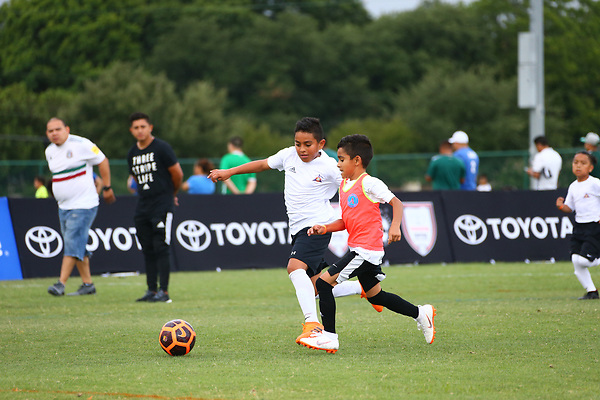 RICHARDSON, TX JUNE 23: Alianza Futbol at University Texas Dallas in Richardson, Texas on June 23,2018.