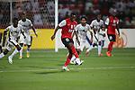 Al-Ahli (UAE) vs Al-Sadd (QAT) during the 2014 AFC Champions League Match Day 2 Group D match on 12 March 2014 at Al-Rashid Stadium, Dubai, United Arab Emirates. Photo by Stringer / Lagardere Sports