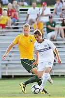 Alex Semenets #26 Vancouver Whitecaps, John Lesko...AC St Louis and Vancouver Whitecaps played to a 0-0 tie at Anheuser-Busch Soccer Park, Fenton, Missouri.