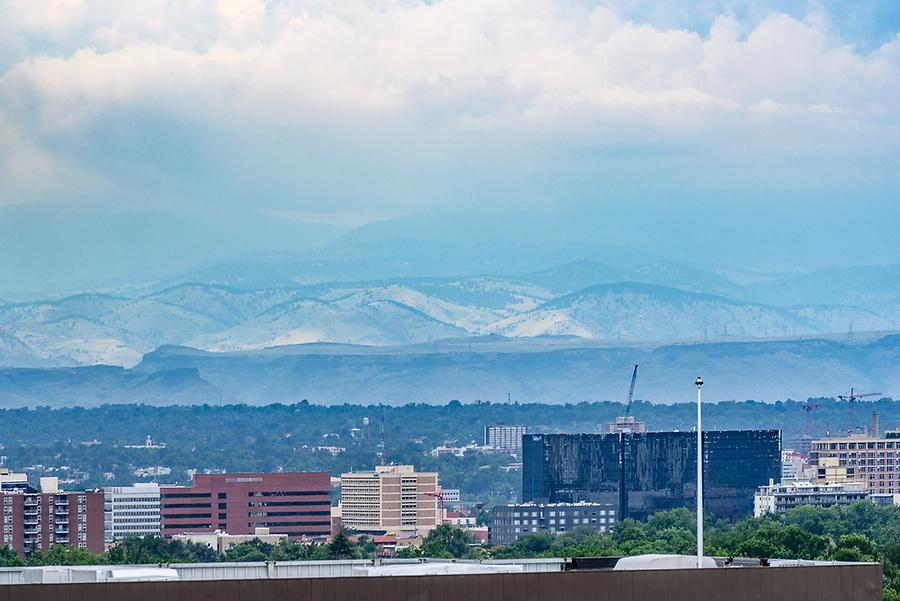 Foothills from Cherry Creek, Denver