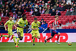 Antoine Griezmann (R) of Atletico de Madrid is followed by Mauro Wilney Arambarri Rosa of Getafe CF during the La Liga 2017-18 match between Atletico de Madrid and Getafe CF at Wanda Metropolitano on January 06 2018 in Madrid, Spain. Photo by Diego Gonzalez / Power Sport Images