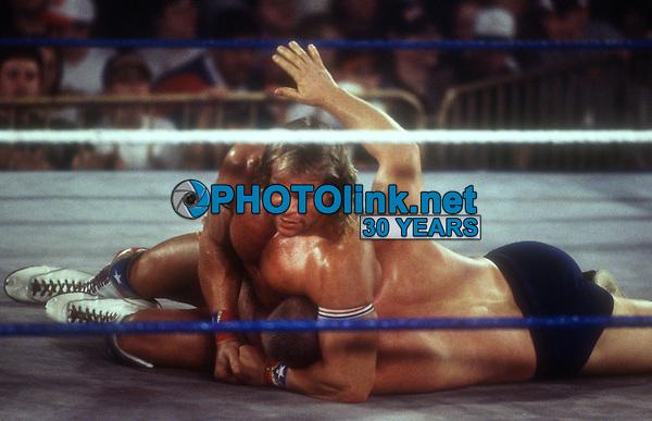 Lex Luger Bob Backlund 1994, Photo By John Barrett/PHOTOlink