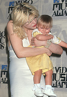 Courtney Love and daughter Frances Bean Cobain<br /> 1993<br /> Photo By Michael Ferguson/PHOTOlink