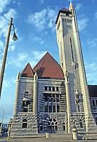 St. Louis: Union Station, Tower. Photo '78.