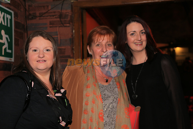 Nuala Savage, Catherine Wright and Sarah Grant.in McPhails.Picture: Fran Caffrey / www.newsfile.ie ..