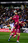 Ruben Duarte of Deportivo Alaves during La Liga match between CD Leganes and Deportivo Alaves at Butarque Stadium in Leganes, Spain. February 29, 2020. (ALTERPHOTOS/A. Perez Meca)