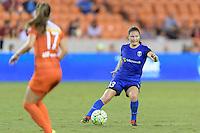Houston, TX - Sunday Sept. 25, 2016: Kendall Fletcher during a regular season National Women's Soccer League (NWSL) match between the Houston Dash and the Seattle Reign FC at BBVA Compass Stadium.