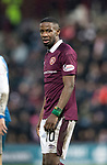 Hearts v St Johnstone…03.02.18…  Tynecastle…  SPFL<br />Arnaud Djoum<br />Picture by Graeme Hart. <br />Copyright Perthshire Picture Agency<br />Tel: 01738 623350  Mobile: 07990 594431
