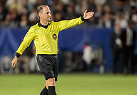 CARSON, CA - SEPTEMBER 21: Kevin Stott controls the pitch during a game between Montreal Impact and Los Angeles Galaxy at Dignity Health Sports Park on September 21, 2019 in Carson, California.