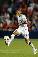 Jermaine Jones USMNT..USA defeated Guadeloupe 1-0 in Gold Cup play at LIVESTRONG Sporting Park, Kansas City, Kansas.