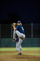 AZL Brewers relief pitcher Phil Pickford (10) delivers a pitch to the plate against the AZL Athletics on August 18, 2017 at Lew Wolff Training Complex in Mesa, Arizona. AZL Brewers defeated the AZL Athletics 6-4. (Zachary Lucy/Four Seam Images)