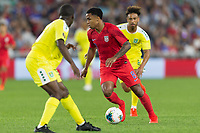 SAINT PAUL, MN - JUNE 18: Weston McKennie of the United States during a 2019 CONCACAF Gold Cup group D match between the United States and Guyana on June 18, 2019 at Allianz Field in Saint Paul, Minnesota.