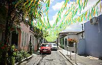 Manaus, Brazil - Sunday, June 22, 2014: Street scene outside Arena Amazonia before USA vs Brazil in the 2014 World Cup.