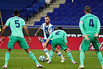 28th June 2020; RCDE Stadium, Barcelona, Catalonia, Spain; La Liga Football, Real Club Deportiu Espanyol de Barcelona versus Real Madrid; Picture show Marc Roca