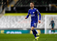 3rd February 2021; Craven Cottage, London, England; English Premier League Football, Fulham versus Leicester City; James Maddison of Leicester City