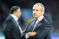 Philippe Saint-Andre, France Head Coach, before Match 5 of the Rugby World Cup 2015 between France and Italy - 19/09/2015 - Twickenham Stadium, London <br /> Mandatory Credit: Rob Munro/Stewart Communications