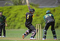 Wellington's Troy Johnson bats during the provincial cricket match between the Wellington A and Central Districts A at Karori Park in Wellington, New Zealand on Monday, 6 January 2020. Photo: Dave Lintott / lintottphoto.co.nz