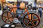 Demon Frameworks stand at Bespoked 2018 UK handmade bicycle show held at Brunel's Old Station & Engine Shed, Bristol, England. 21st April 2018.<br /> Picture: Eoin Clarke | Cyclefile<br /> <br /> <br /> All photos usage must carry mandatory copyright credit (© Cyclefile | Eoin Clarke)