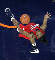 CHARLOTTESVILLE, VA- December 7: Avery Warley #23 of the Liberty Lady Flames grabs a rebound during the game against the Virginia Cavaliers on December 7, 2011 at the John Paul Jones arena in Charlottesville, Va. Virginia defeated Liberty 64-38. (Photo by Andrew Shurtleff/Getty Images) *** Local Caption *** Avery Warley