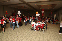 6 April 2008: Stanford Cardinal fans during Stanford's 2008 NCAA Division I Women's Basketball Final Four semifinal pre-game pep rally/reception at the Westin Harbour Island Hotel in Tampa Bay, FL.