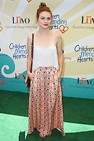 """BEVERLY HILLS, CA, USA - JUNE 14: Holland Roden at the Children Mending Hearts' 6th Annual Fundraiser """"Empathy Rocks: A Spring Into Summer Bash"""" on June 14, 2014 in Beverly Hills, California, United States. (Photo by Celebrity Monitor)"""