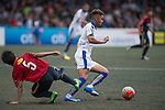 Kashima Antlers vs Leicester City during the Main tournament of the HKFC Citi Soccer Sevens on 22 May 2016 in the Hong Kong Footbal Club, Hong Kong, China. Photo by Li Man Yuen / Power Sport Images