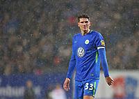 09.12.2017, Football 1. Bundesliga 2017/2018, 15.  match day, Hamburger SV - VfL Wolfsburg, Volksparkstadium Hamburg. Mario Gomez (Wolfsburg)  *** Local Caption *** © pixathlon<br /> <br /> +++ NED + SUI out !!! +++<br /> Contact: +49-40-22 63 02 60 , info@pixathlon.de