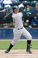 June 1, 2008: Salt Lake Bees' Matt Brown at-bat during a Pacific Coast League game against the Tacoma Rainiers at Cheney Stadium in Tacoma, Washington.