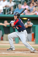 Dustin Ackley #3 of the Tacoma Rainiers plays in a Pacific Coast League game against the Tucson Padres  at Kino Stadium on June 4, 2011  in Tucson, Arizona. .Photo by:  Bill Mitchell/Four Seam Images.