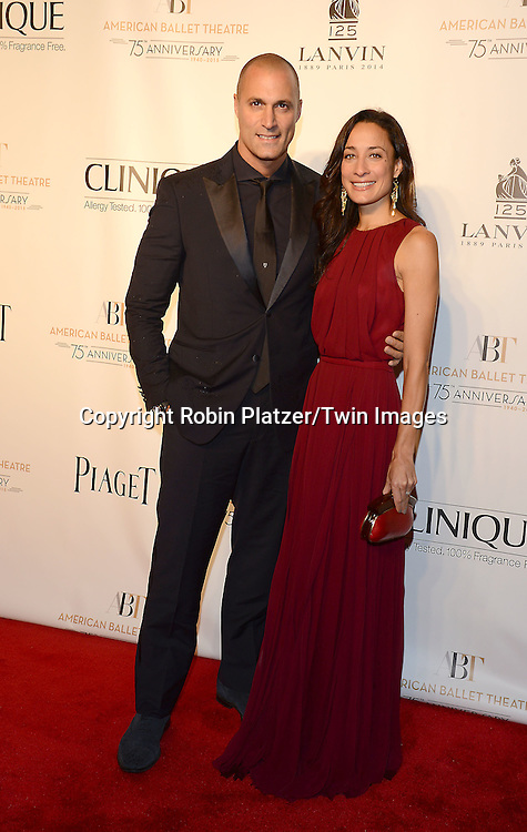 Nigel Barker and wife Cristen Barker attends the Opening Night of American Ballet Theatre 2014 Fall Gala on October 22,2014 at the David Koch Theater at Lincoln Center in New York City. <br /> <br /> photo by Robin Platzer/Twin Images<br />  <br /> phone number 212-935-0770