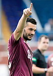 Queen of the South v St Johnstone…18.08.18…  Palmerston    BetFred Cup<br />Tony Watt celebrates his second goal<br />Picture by Graeme Hart. <br />Copyright Perthshire Picture Agency<br />Tel: 01738 623350  Mobile: 07990 594431