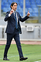 Simone Inzaghi coach of SS Lazio reacts during the Serie A football match between SS Lazio and ACF Fiorentina at Olimpico stadium in Roma (Italy), January 6th, 2021. Photo Andrea Staccioli / Insidefoto