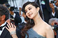 FAN Bingbing, la derniere montée pour la Palme d'Or, soixante-dixième (70ème) Festival du Film à Cannes, Palais des Festivals et des Congres, Cannes, Sud de la France, dimanche 28 mai 2017.