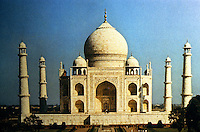 Islamic Architecture:  The Taj Mahal in Agra, India 1632-1648. Built for Mumtaz Mahal, the favorite wife of Shah Jahan. Considered the masterpiece of Indo-Islamic Architecture.
