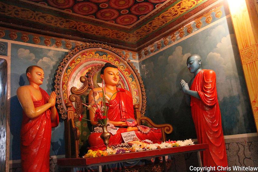Seated Buddha (meditative pose), Dowa Temple, Bandarawela, Sri Lanka