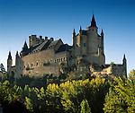 Spain, Castile and Leon, Segovia: The Alcazar of Segovia, former residence of the Kings of Castile | Spanien, Kastilien und Leon, Segovia: Der Alcázar von Segovia