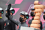 Simon Yates (GBR) Team BikeExchange at sign on before the start of Stage 4 of the 2021 Giro d'Italia, running 187km from Piacenza to Sestola, Italy. 11th May 2021.  <br /> Picture: LaPresse/Gian Mattia D'Alberto | Cyclefile<br /> <br /> All photos usage must carry mandatory copyright credit (© Cyclefile | LaPresse/Gian Mattia D'Alberto)