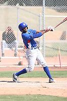 Burundi Davis, Chicago Cubs 2010 minor league spring training..Photo by:  Bill Mitchell/Four Seam Images.