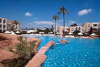 Plage de Sidi Mahrés, Golfhotel Abou Nawas, Djerba, Tunesien