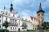 Neustaedter Rathaus, Prag, Tschechien, Unesco-Weltkulturerbe.