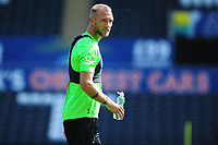 Mike van der Hoorn of Swansea City in action during the Swansea City Training at The Liberty Stadium in Swansea, Wales, UK. Thursday 25 July 2019