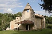 Europe/France/Aquitaine/40/Landes/ Retjons: Chapelle de  Lugaut ou Chapelle Sainte-Marie