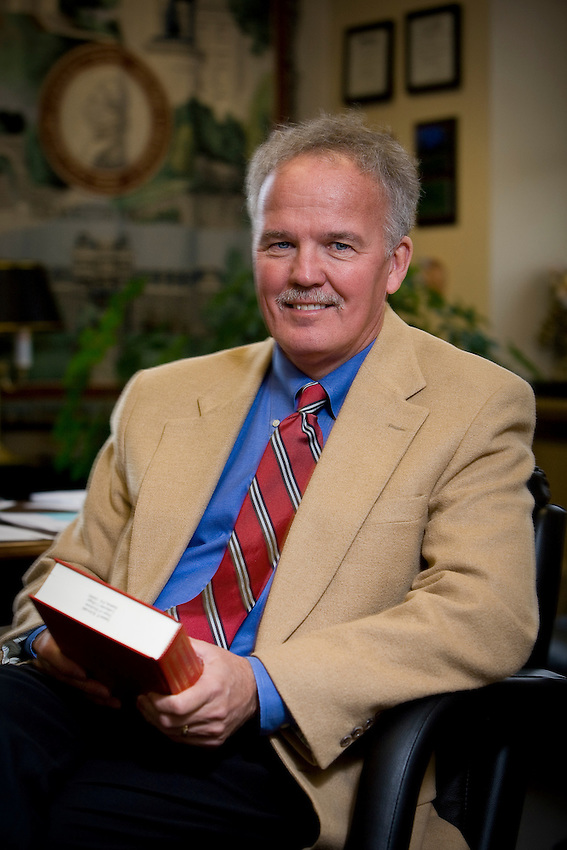 Portrait of  James (Jim)  Krivoski - VP for student Affairs at Kafayette College...4356
