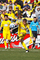27 MARCH 2010:  Brian Carroll of the Columbus Crew (16) during the Toronto FC at Columbus Crew MLS game in Columbus, Ohio on March 27, 2010.