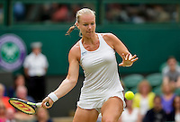 London, England, 2 July, 2016, Tennis, Wimbledon, Kiki Bertens (NED)<br /> Photo: Henk Koster/tennisimages.com