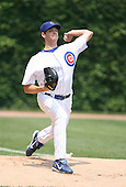 Rich Hill of the Chicago Cubs vs. the San Diego Padres: June 18th, 2007 at Wrigley Field in Chicago, IL.  Photo copyright Mike Janes Photography 2007.