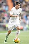 Real Madrid's James Rodriguez during La Liga match. February 13,2016. (ALTERPHOTOS/Acero)