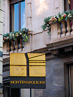 Montenapoleone district, Milan, Ital